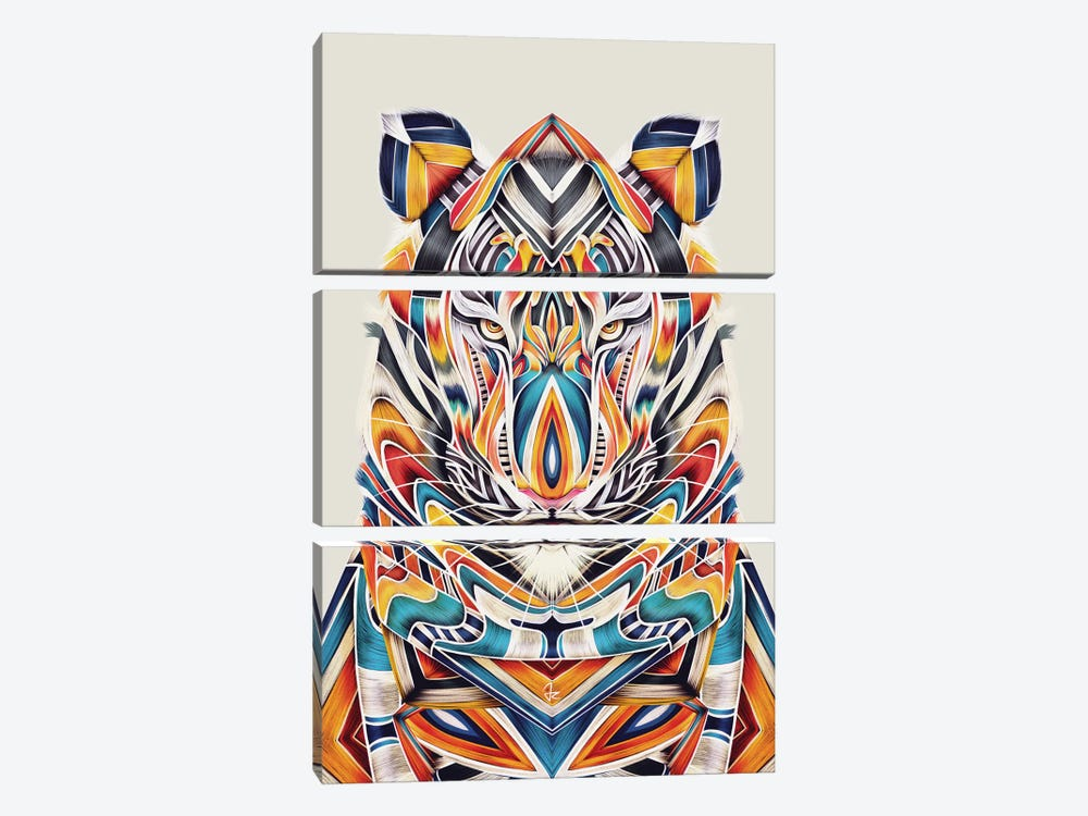 Tygr by Giulio Rossi 3-piece Art Print