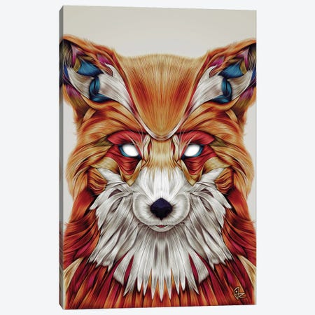 Firefox Canvas Print #JRI33} by Giulio Rossi Canvas Art