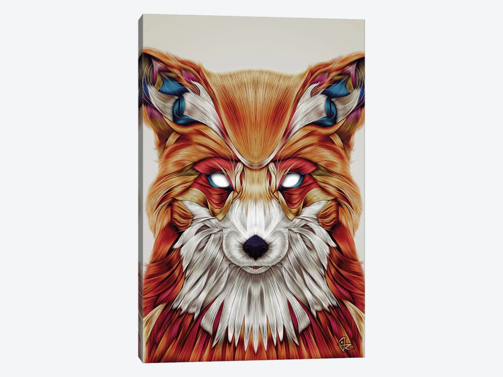 Firefox by Giulio Rossi 1-piece Canvas Print