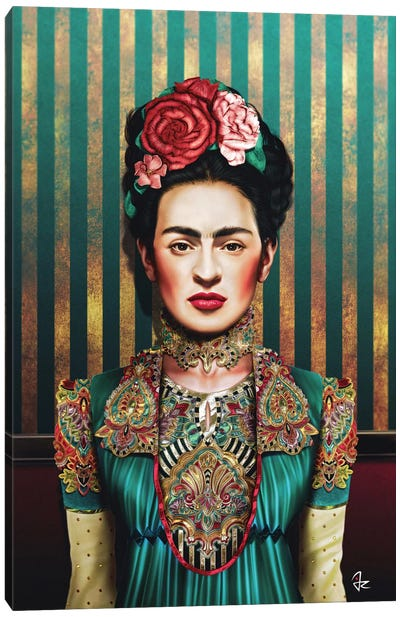 Frida by Giulio Rossi Canvas Print
