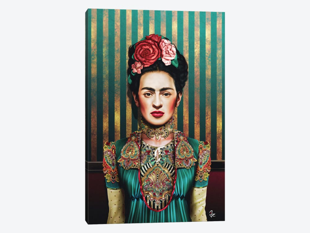 Frida by Giulio Rossi 1-piece Canvas Artwork