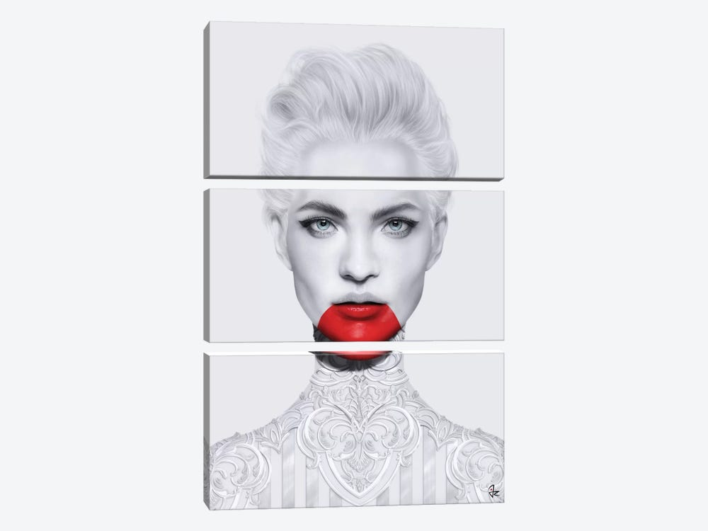 Obsession by Giulio Rossi 3-piece Canvas Print