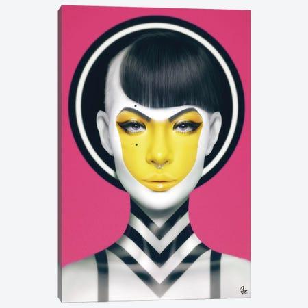 Yell Canvas Print #JRI43} by Giulio Rossi Art Print