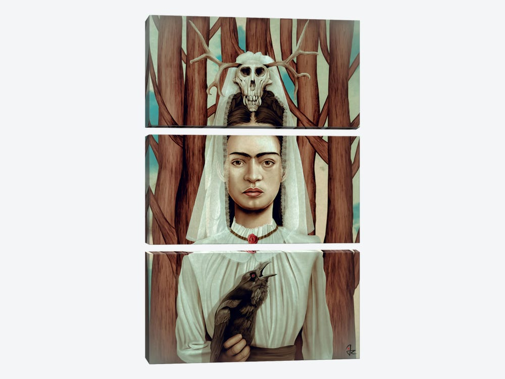 FRIDArk by Giulio Rossi 3-piece Canvas Art Print