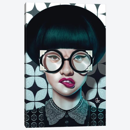 Optical Canvas Print #JRI4} by Giulio Rossi Canvas Art Print