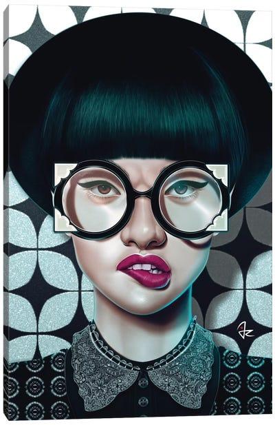 Optical Canvas Art Print