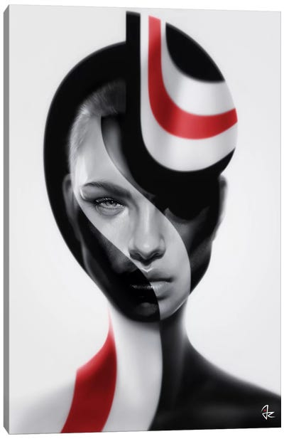 Spherical Canvas Art Print