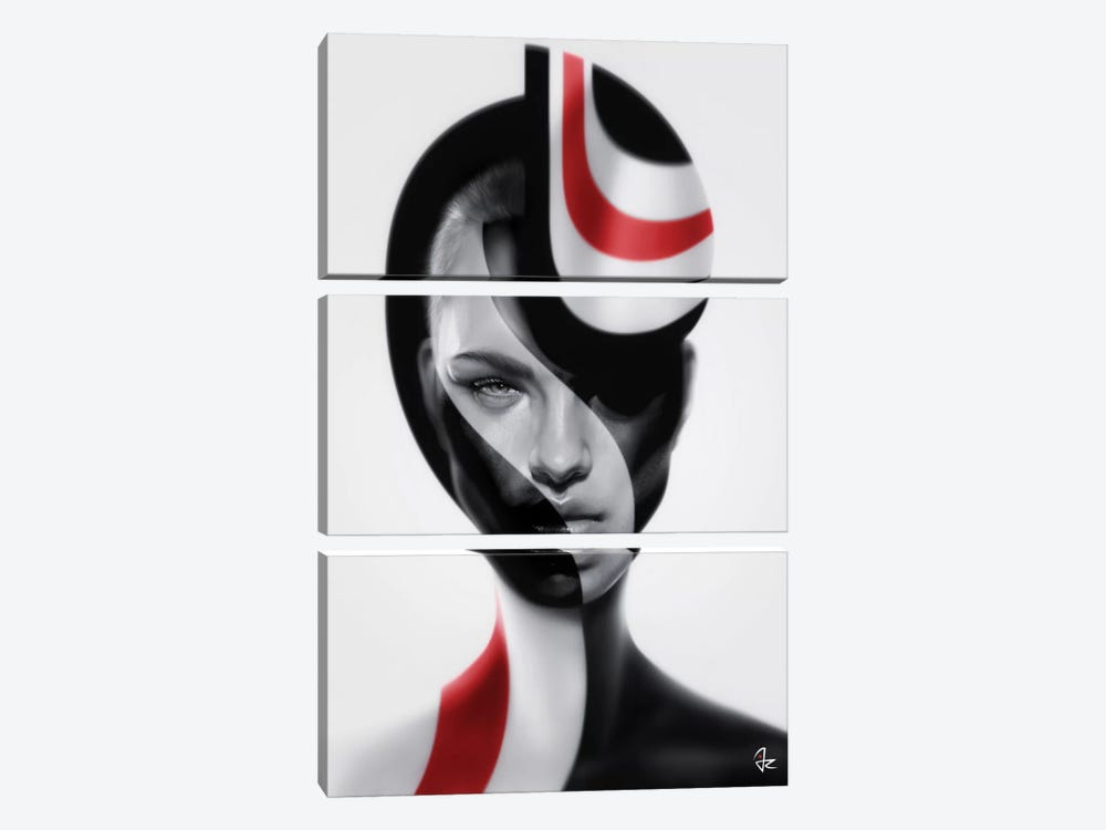 Spherical by Giulio Rossi 3-piece Canvas Wall Art