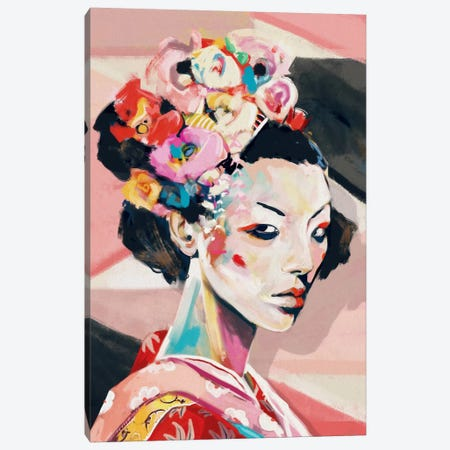 Japan 3-Piece Canvas #JRI61} by Giulio Rossi Canvas Print