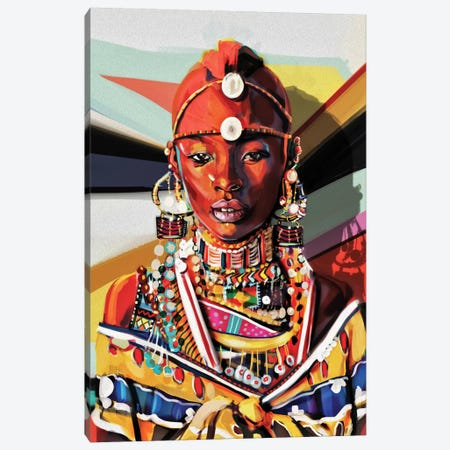 Kenya Canvas Print #JRI62} by Giulio Rossi Canvas Art Print