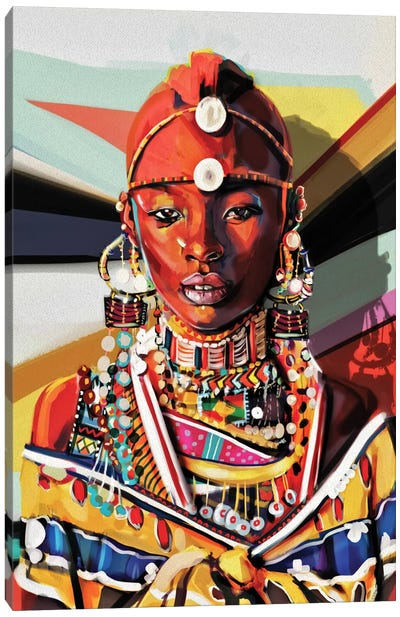 Kenya Canvas Art Print
