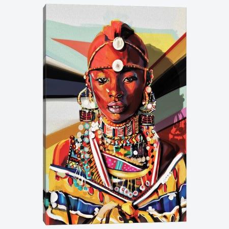 Kenya Canvas Print #JRI62} by Giulio Rossi Canvas Art Print