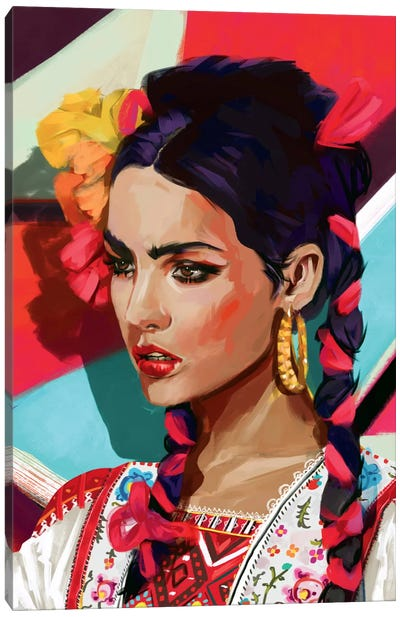 Mexico Canvas Art Print