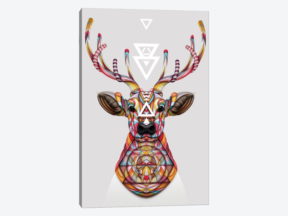 Oh Deer by Giulio Rossi 1-piece Canvas Print