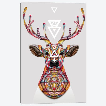 Oh Deer 3-Piece Canvas #JRI66} by Giulio Rossi Canvas Wall Art