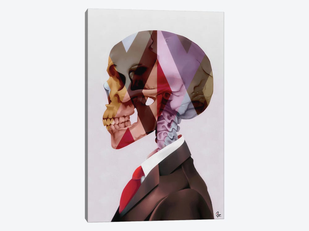 Red Tie by Giulio Rossi 1-piece Canvas Art