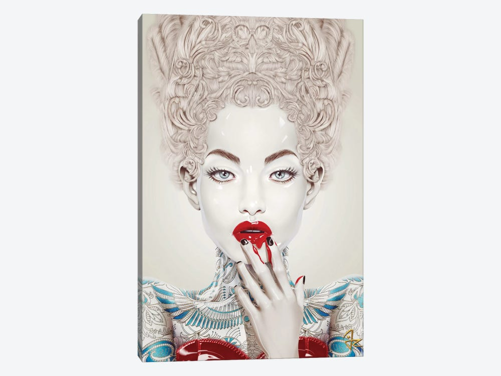 Porcelain by Giulio Rossi 1-piece Canvas Print