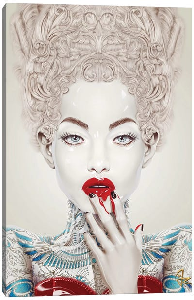 Porcelain by Giulio Rossi Canvas Art Print