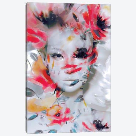 Delicate Flower Canvas Print #JRI73} by Giulio Rossi Canvas Art
