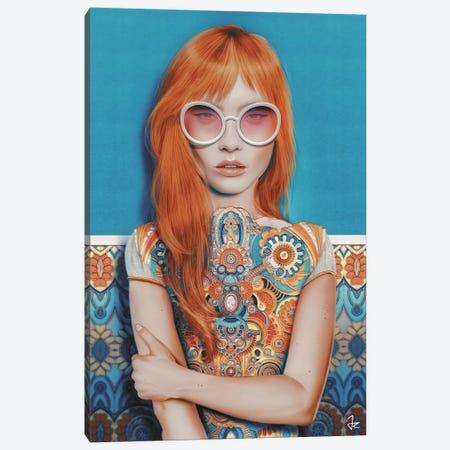 Indian Summer Canvas Print #JRI76} by Giulio Rossi Art Print
