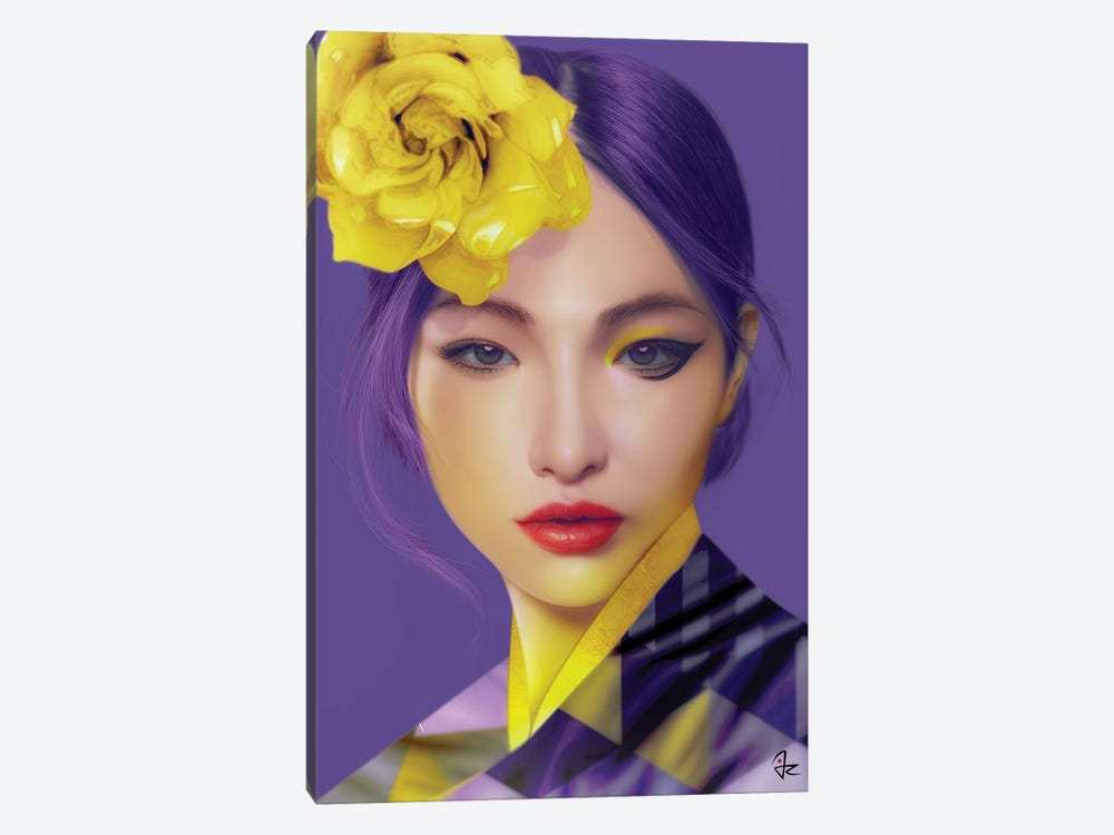 Ultra Violet by Giulio Rossi 1-piece Canvas Art Print
