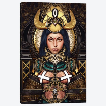 Queen of the Damned Canvas Print #JRI7} by Giulio Rossi Canvas Print