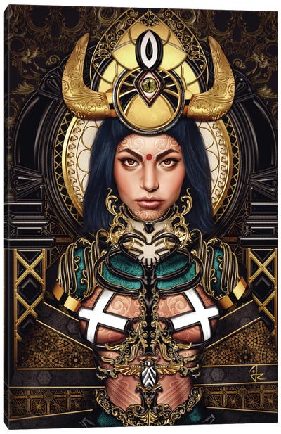 Queen of the Damned Canvas Art Print