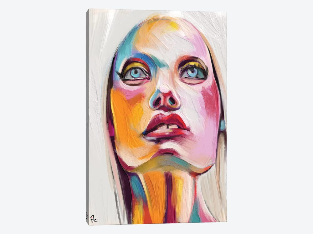 Glowing II by Giulio Rossi 1-piece Canvas Art