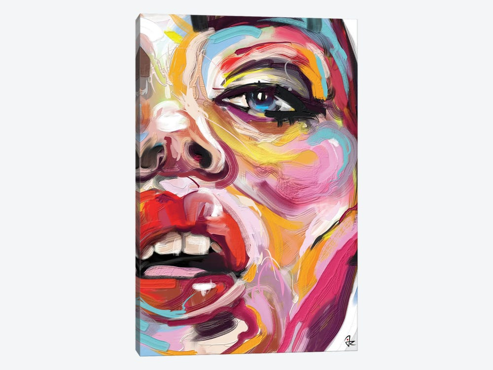 Glowing IV by Giulio Rossi 1-piece Canvas Wall Art