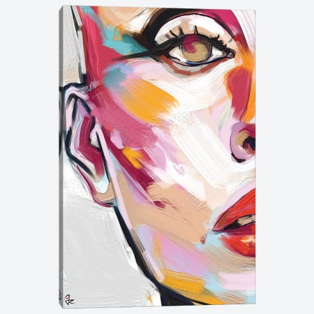 Glowing V Canvas Print #JRI86} by Giulio Rossi Canvas Art
