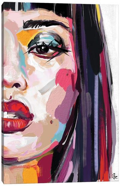 Glowing VII Canvas Art Print