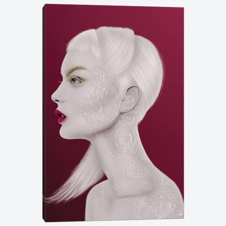 Pearl Canvas Print #JRI93} by Giulio Rossi Canvas Art