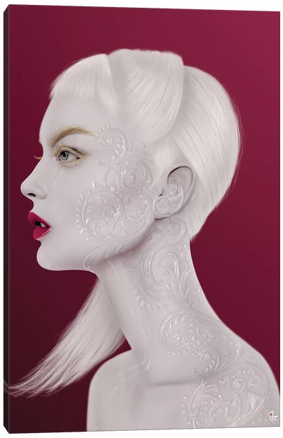 Pearl Canvas Art Print