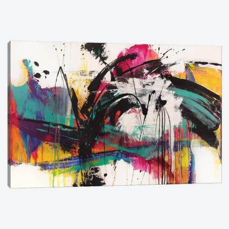 Mardi Gras Canvas Print #JRM14} by Jude Remedios Canvas Print