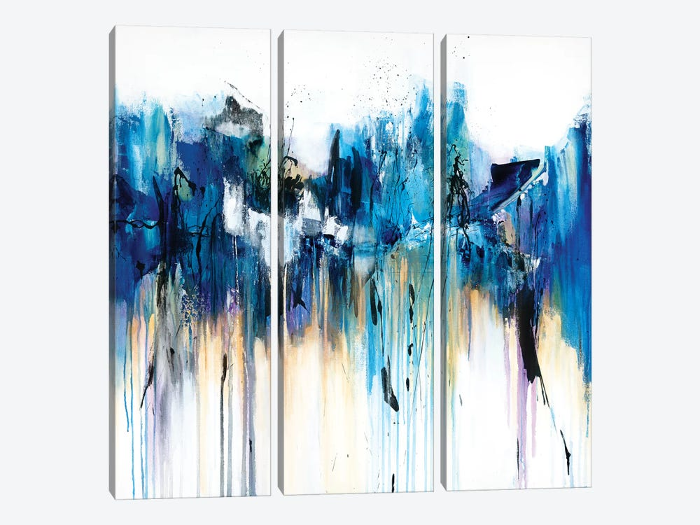Between The River And The Rain by Jude Remedios 3-piece Canvas Wall Art
