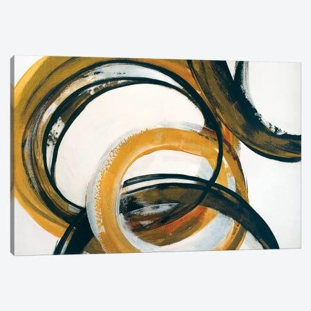 Touching Base Canvas Print #JRM53} by Jude Remedios Canvas Artwork