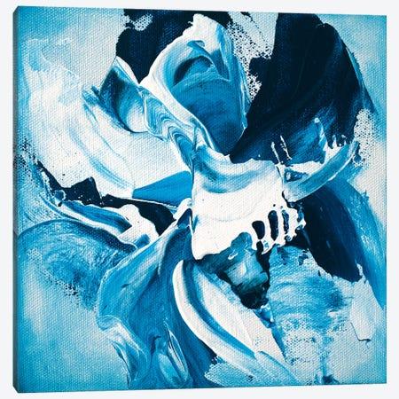 Blue Dahlia No.2 Canvas Print #JRM54} by Jude Remedios Canvas Art Print