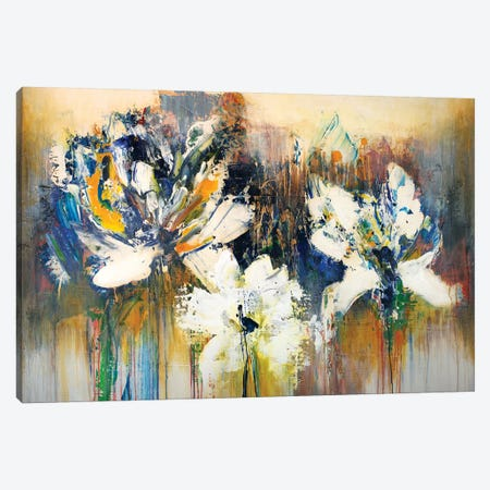 Tiger Lilies Canvas Print #JRM56} by Jude Remedios Canvas Art Print