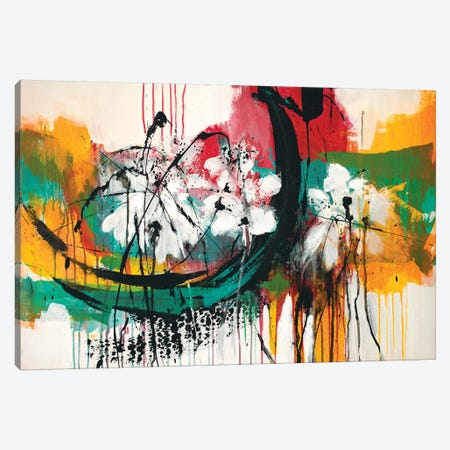 Mardi Gras No.2 Canvas Print #JRM64} by Jude Remedios Canvas Art