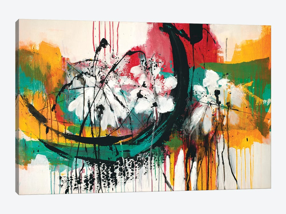 Mardi Gras No.2 by Jude Remedios 1-piece Canvas Wall Art