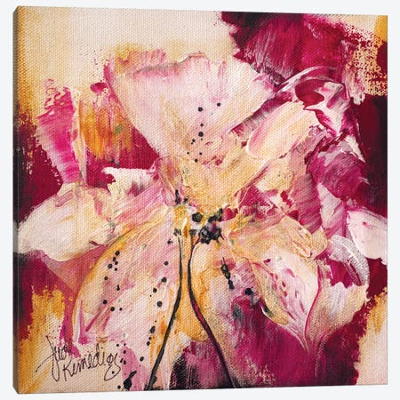 Cherry Blossom No.4 Canvas Print #JRM72} by Jude Remedios Canvas Art