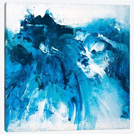Tangled Blue No.7 Canvas Print #JRM77} by Jude Remedios Canvas Print