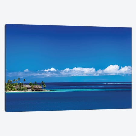 Tahiti Blues Canvas Print #JRP100} by Jonathan Ross Photography Art Print