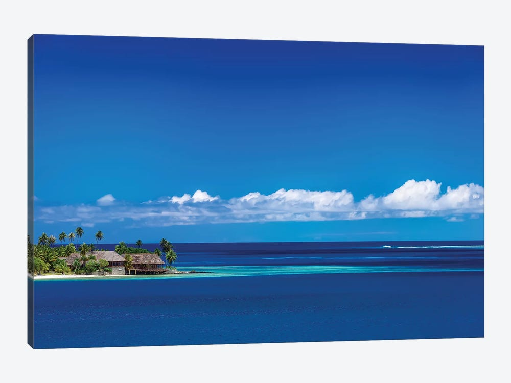 Tahiti Blues by Jonathan Ross Photography 1-piece Canvas Artwork