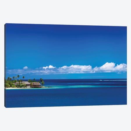 Tahiti Blues Canvas Print #JRP100} by Jonathan Ross Photography Art Print