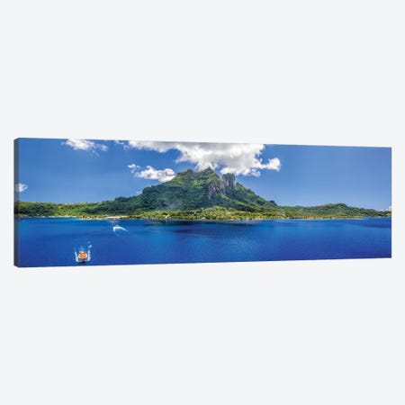Tender To Bora Bora Canvas Print #JRP101} by Jonathan Ross Photography Art Print