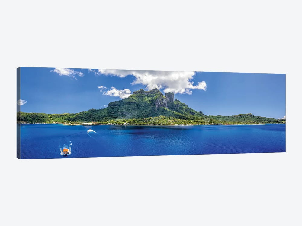 Tender To Bora Bora by Jonathan Ross Photography 1-piece Canvas Art Print