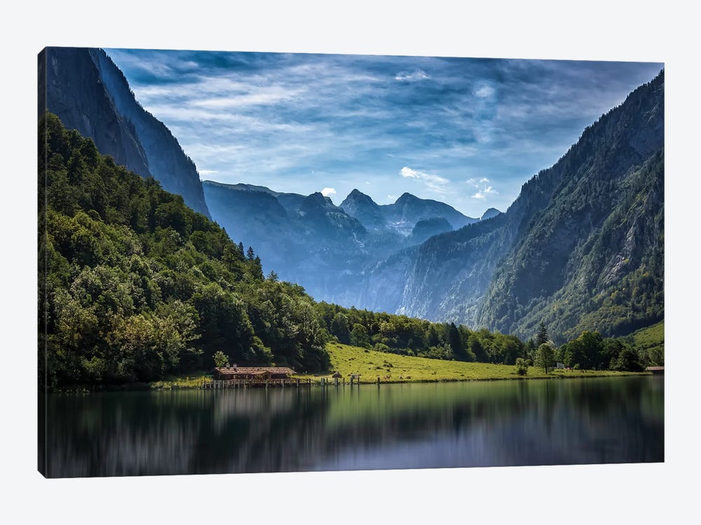 Tranquil Alpine Lake by Jonathan Ross Photography 1-piece Art Print