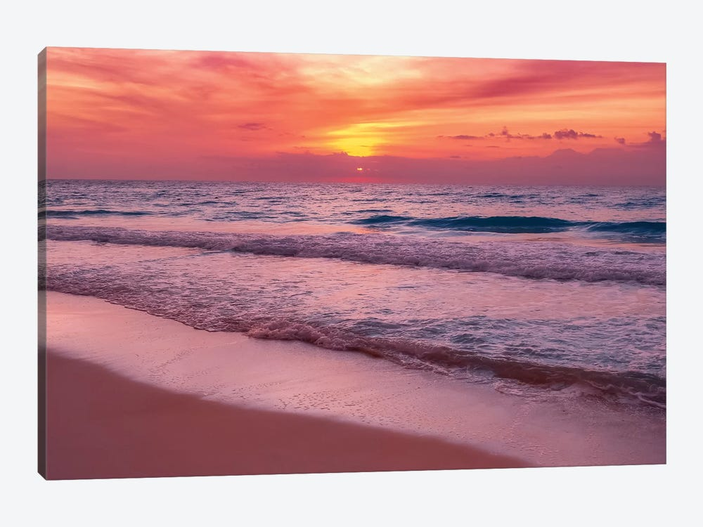 Waiting For The Sun by Jonathan Ross Photography 1-piece Canvas Print