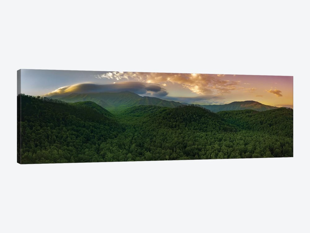 Storm Over The Smokies by Jonathan Ross Photography 1-piece Canvas Wall Art